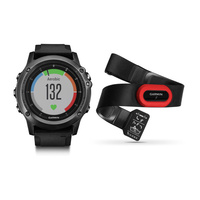 GARMIN FENIX 3HR, SAPPHIRE GPS WATCH, PERFORMER BUNDLE