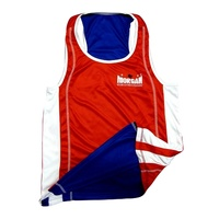 MORGAN REVERSIBLE BOXING SINGLET